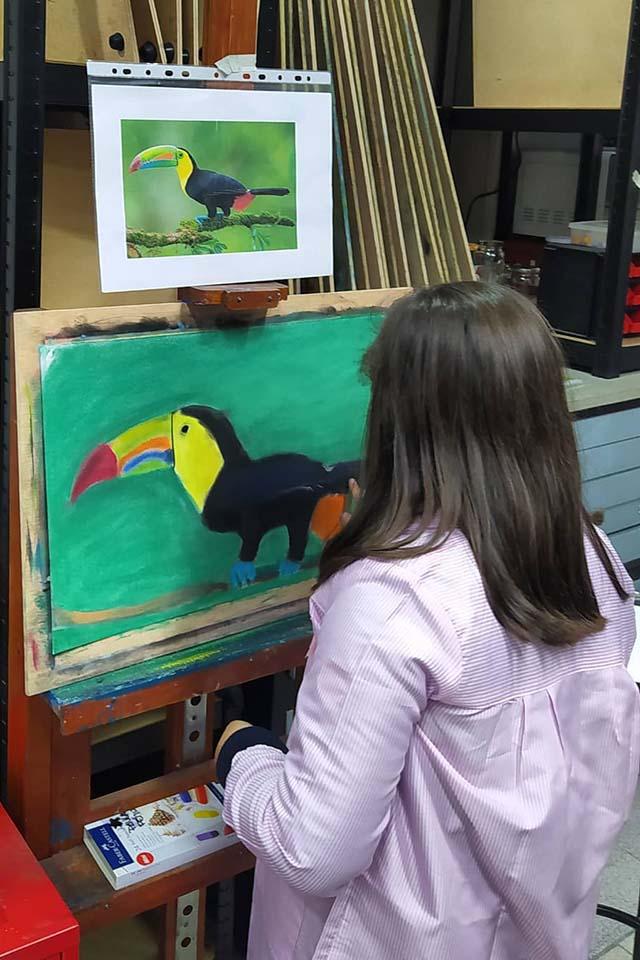 clases de pintura para niños en madrid