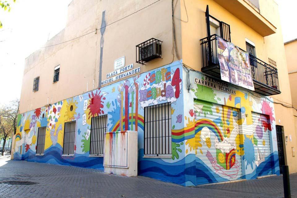 graffiti por encargo para guarderia
