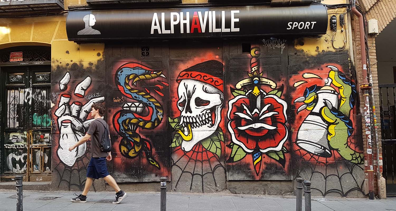 pintar graffiti madrid