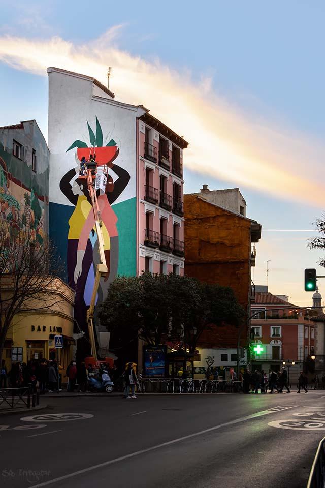 fachadas pintadas con arte urbano