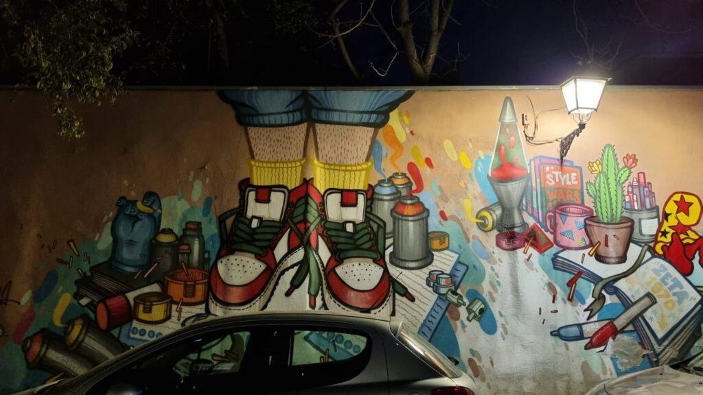 alternativo free tour graffiti madrid lavapies