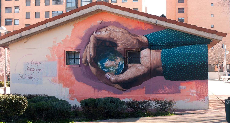 graffiti para colegios en madrid