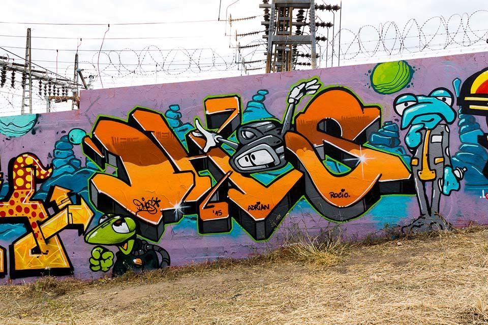 arte en los muros de la ciudad