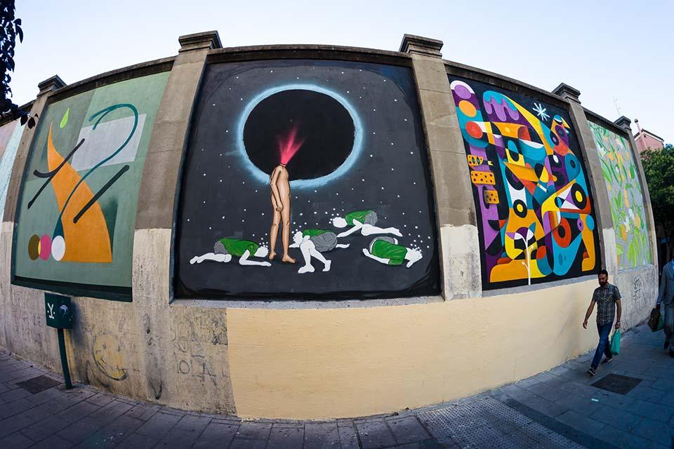 tour gratis graffiti madrid
