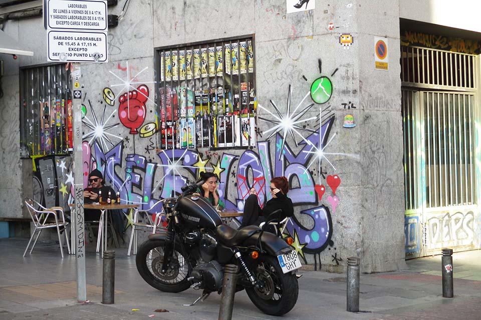 self love, un graffiti de ruca