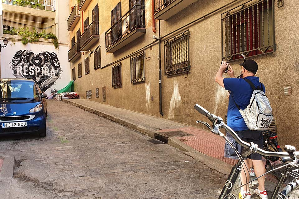visitas guiadas para madrileños en bicicleta