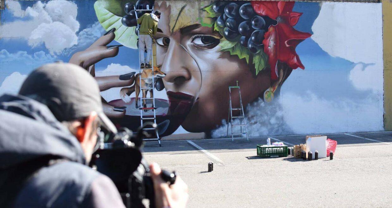 obras de arte callejero en España