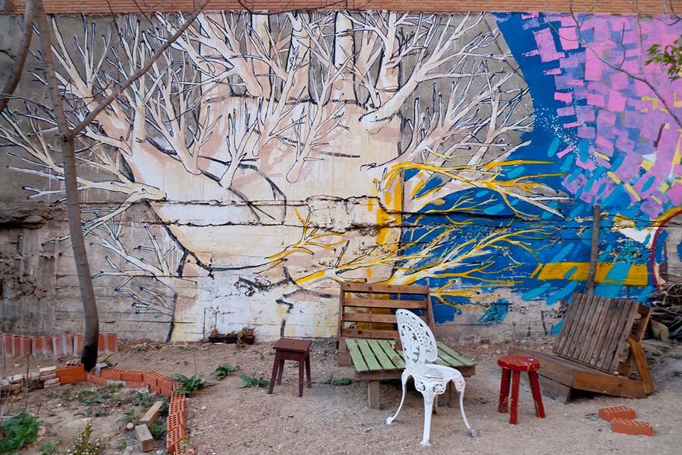 tours arte urbano lavapies en centros sociales