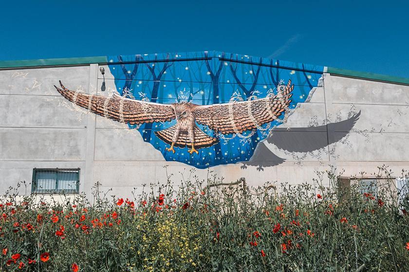muralismo en el entorno rural de España