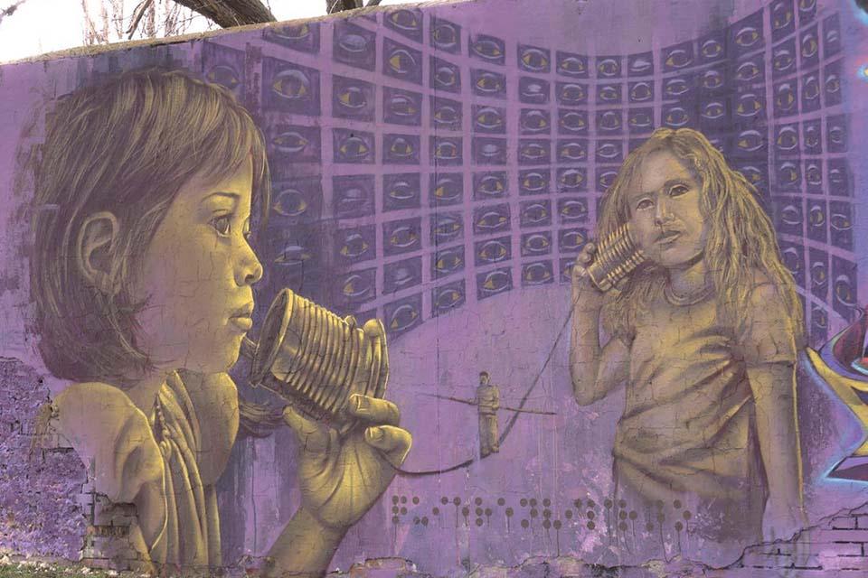 trabajos en gran formato de los grafiteros en madrid