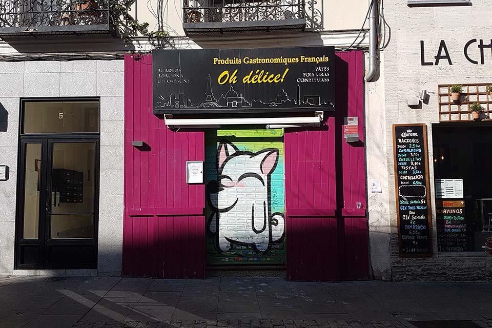 encontrar animales hechos con graffiti
