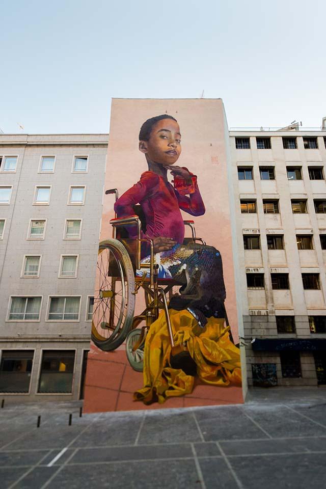 nuevos murales de street art en madrid