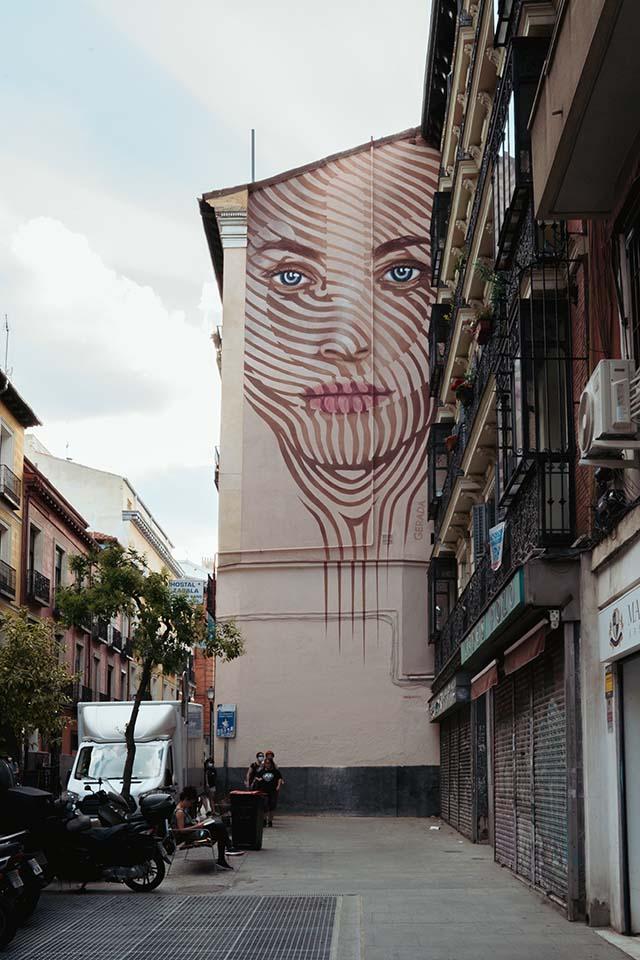 nuevas obras de arte en Madrid 2021