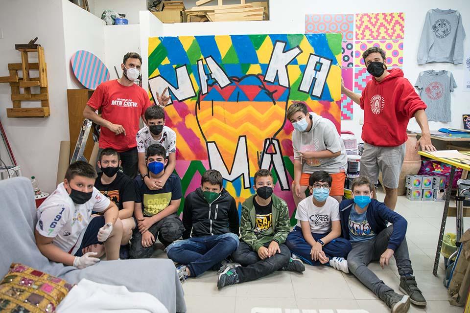 taller de graffiti en madrid para cumpleaños