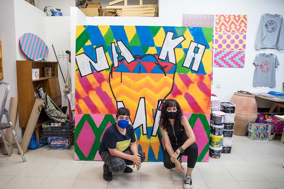 el graffiti está entre las ideas de regalos de cumpleaños alternativos en Madrid
