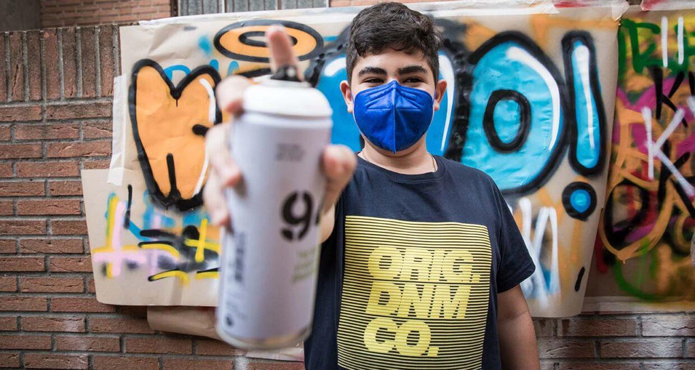 talleres educativos para la limpieza de graffitis en madrid
