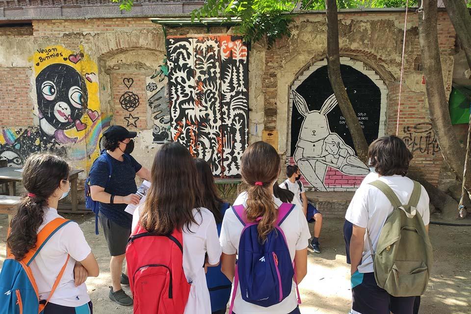 salidas escolares por espacios alternativos de Madrid