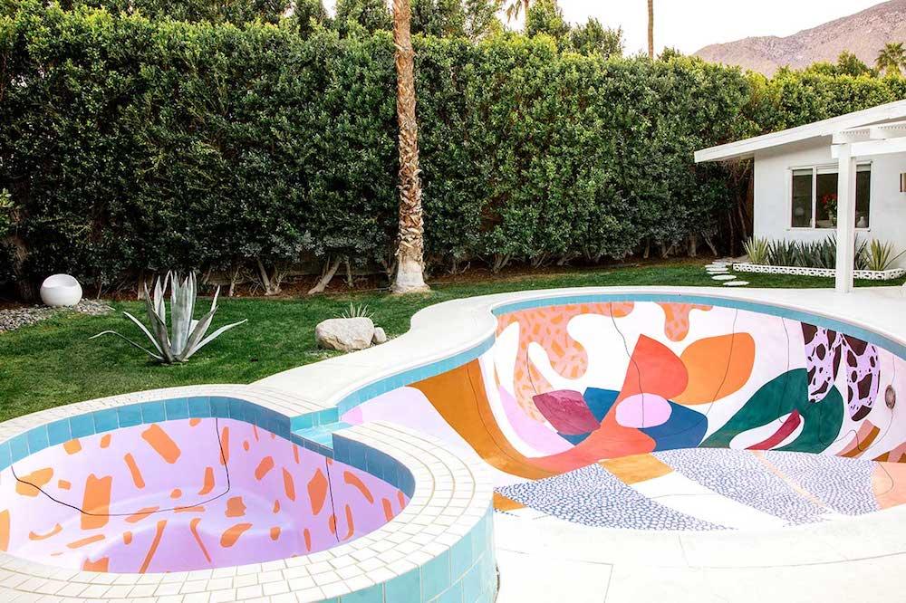 murales para terrazas y piscinas