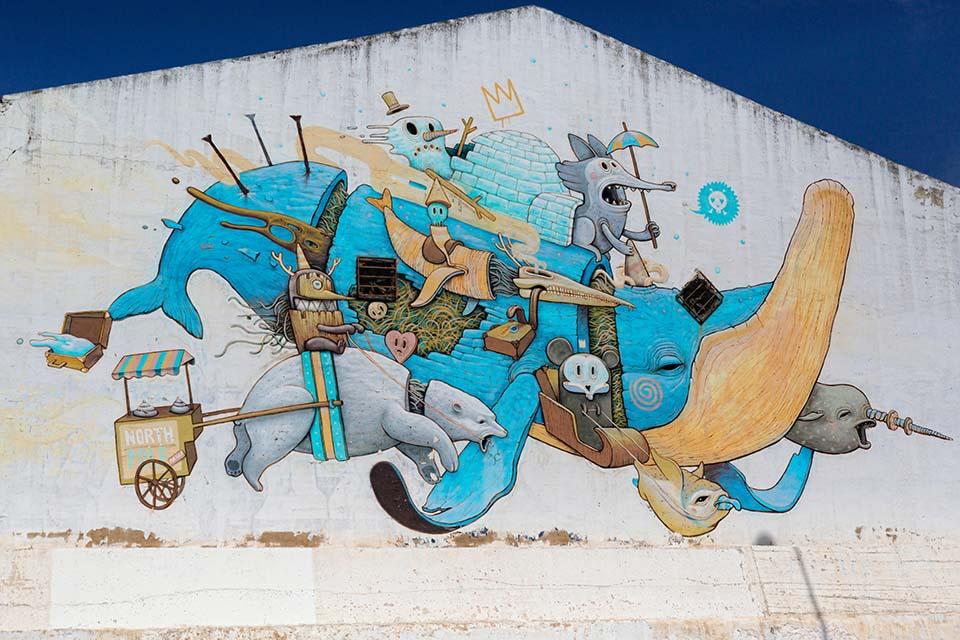 ruta de murales en Málaga