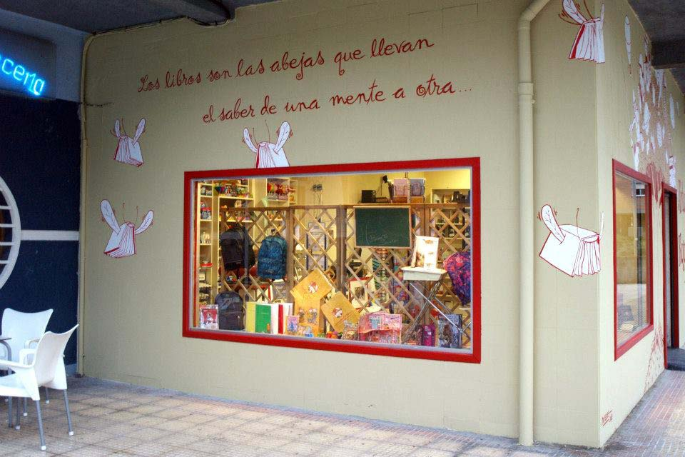 Decoración a mano para negocios en Madrid