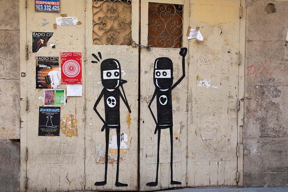 arte urbano de David de Limon