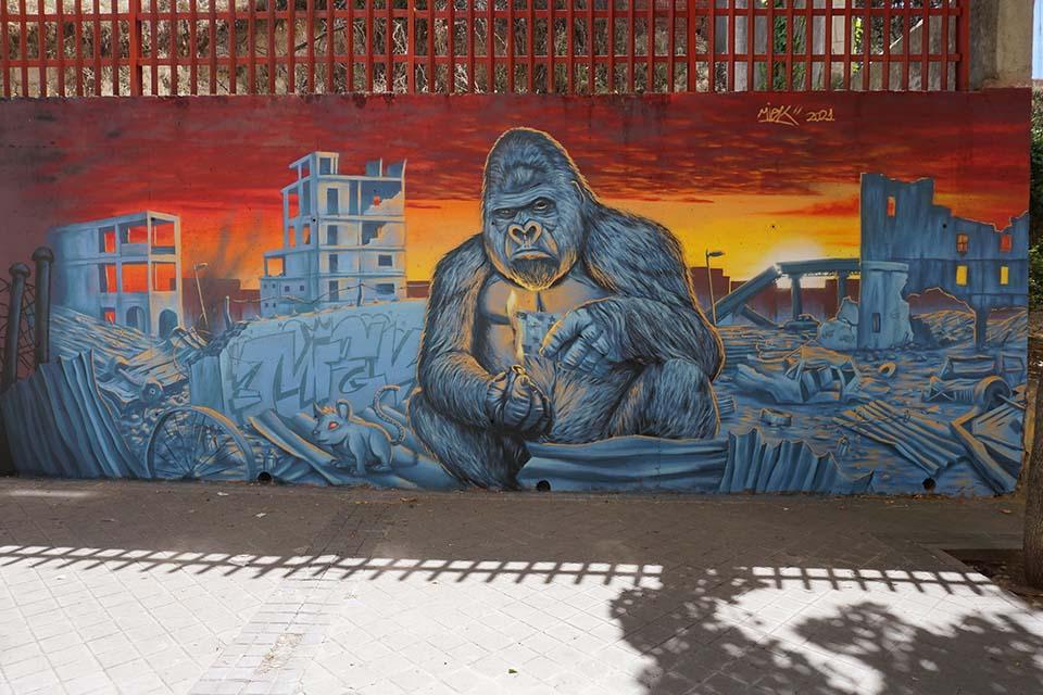 graffiti 2021 madrid