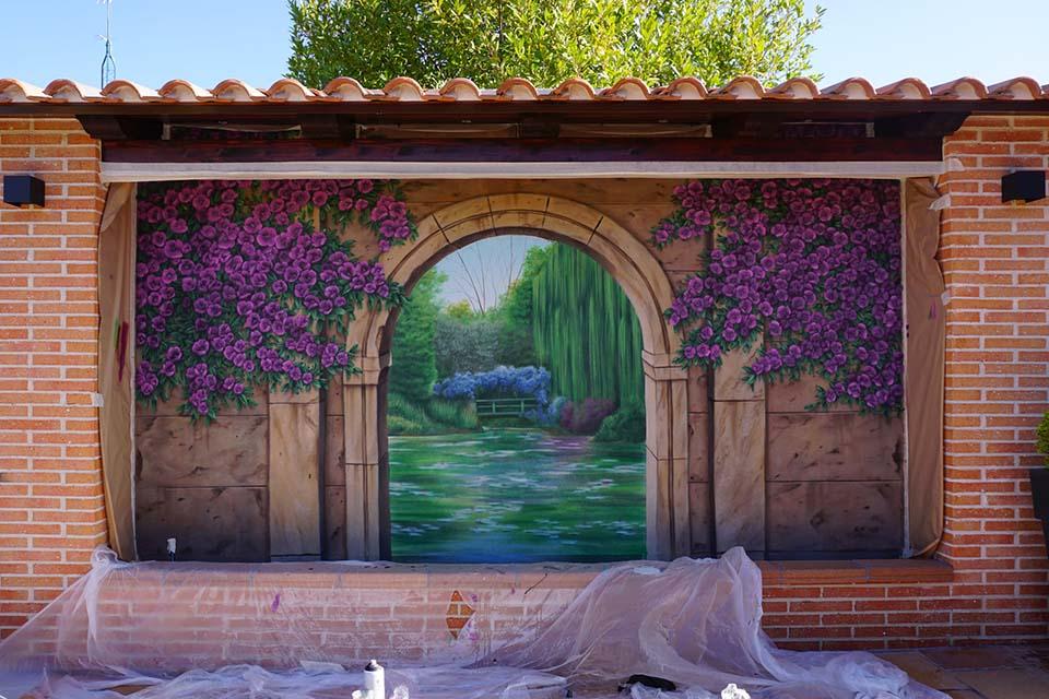cuanto cuesta un servicio de murales para terrazas