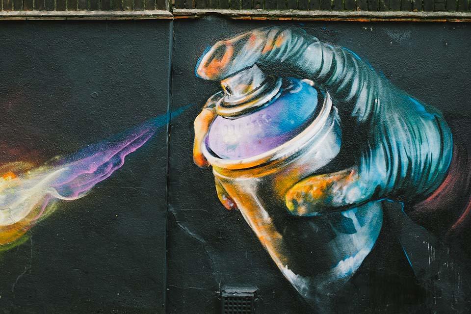 graffitis hiperrealistas