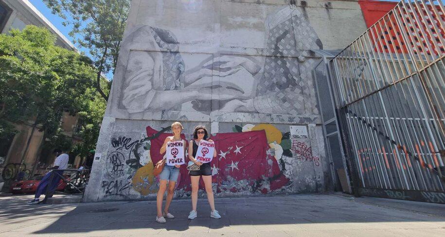 tour guiado de arte urbano