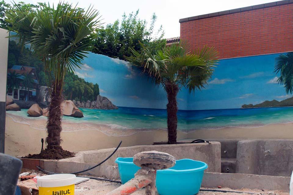 murales para terrazas de bares y restaurantes